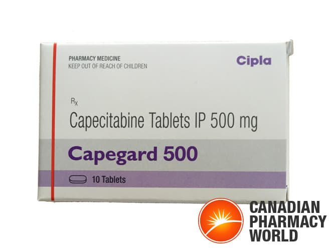 Photo Creidit: Capegard Capecitabine 500 mg from Cipla by @CANPharmaWorld