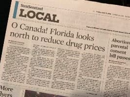 Using a Canadian Online Pharmacy: The Solution to America's High Prescription Drug Prices?